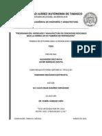 Programacion Modelado y Manufactura de Conexiones Roscables Para Tuberia de Perforacion