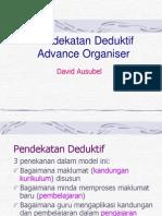 Pendekatan Deduktif (Advance Organizer)- David Ausubel