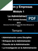 1 Administracion