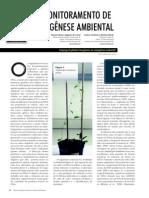 biomonitoramento mutagense ambiental