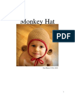 Monkey Hat PDF Crochet Pattern