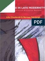 Chouliaraki Discourse in Late Modernity