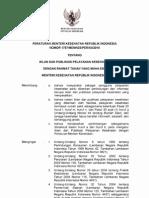 Permenkes 1787 Th 2010 Iklan Dan Publikasi Pelayanan Kesehatan