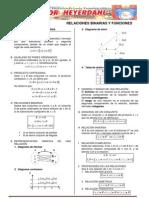 Algebra - Relaciones y Funciones - Teoria y Problemas - Jesus
