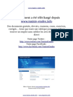 Communication Graphique Www.tunisie-etudes