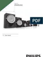 PHILIPS Mini Sound Systemfwm998 55 Dfu Eng