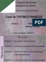 Cours de Thermodynamique L2-S1-Definitif