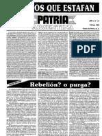 Patria Argentina numero 16-30