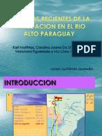 Impactos Recientes de La Navegacion en El Rio