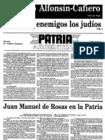 Patria Argentina numero 31-45