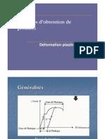 Procedes Des Materiaux Metalliques Cours 05 Procedes d Obtention de Produits Deformation Plastique Forgeage