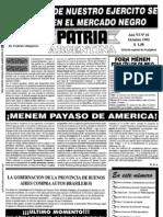 Patria Argentina numero 61-75