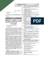 Decreto Supremo Nº 013-2009-MINAM