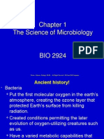 Chapter 01 - Science of Microbiology