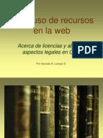Buen Uso de Recursos en La Web - Aspectos Legales [Comprimido]