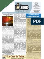 """2012-04-08 """"El CONQUISTADOR"""", una publicación de la LA CASA DE TODOS"""