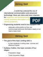 Writing Skill Material