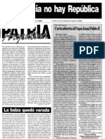 Patria Argentina numero 151-165