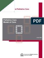 Palliative Care Model of Care