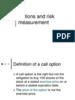 Measurment Risk & Return