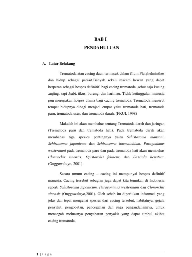 JURNAL CACING TREMATODA PDF