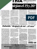 Patria Argentina numero 181-195