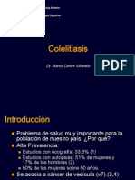 Colelitiasis + Colecistitis Aguda Ceroni