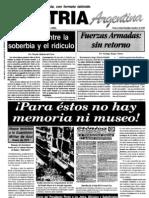 Patria Argentina numero 196-210