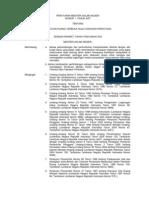 Permendagri 1 2007 Rth