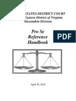 Alexandria, VA Division Pro Se Litigant Handbook