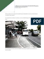 Manukau Train Station PDF Mode