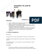 Proiect Managerial Pe Linie de Ordine