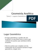 Geometría Analítica Tema 2