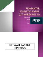 Pengantar Statistik Sosial_Pertemuan 6