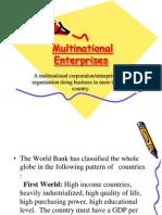 Multinational Enterprises