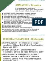 Istoria Farmaciei AnII 2009 2010 Partea1