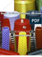 Dyes and Fibre Polymer System 3 Mansoor Iqbal