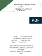 Laporan Praktikum Elektronika Dasar 2