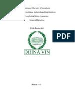 Mediul de Marketing Al s.r.l. Doina-Vin.[Conspecte.md]