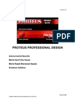 PCB Design Using Proteus Professional 7
