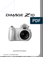 Konica-Minolta Z10 Manual