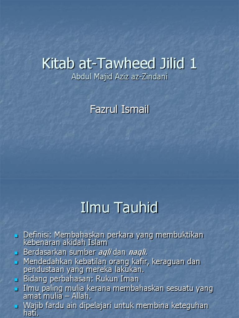 Buku Tauhid Pdf