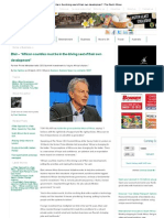 """Blair – """"African countries must be in the driving seat of their own development"""" _ The South African"""