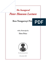 Bess Price Lecture