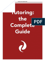 Tutoring the Complete Guide[1]