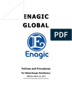 Enagic Policies & Procedures - March 29, 2012 - Copy
