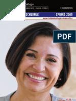 Emeritus Spring 2008 Schedule