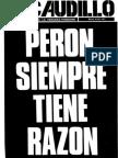 Revista El Caudillo nro. 28 a 36