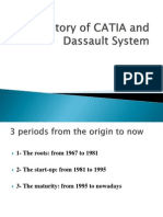 History of CATIA and Dassault System