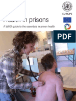 Health in Prison - WHO Guide to Essentials in Prison Health